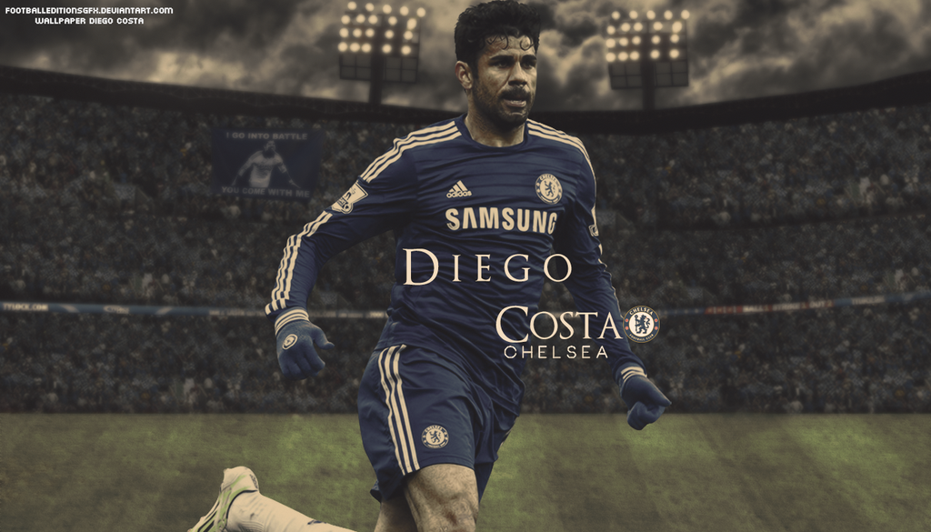 Wallpaper Diego Costa By Footballeditionsgfx