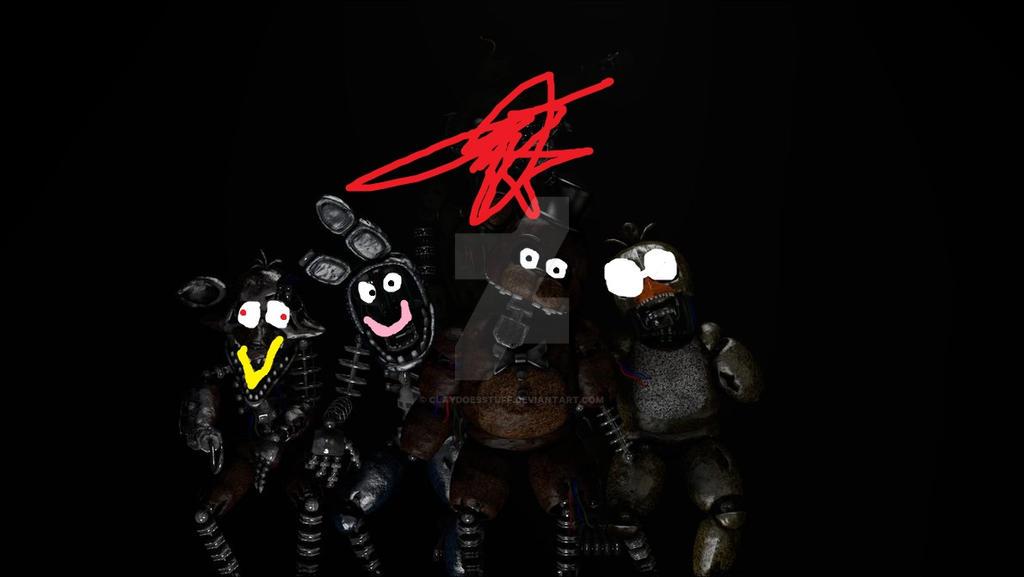 my oc gang by ClayDoesStuff