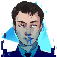 [Detroit: Become Human] Connor by M-F-W