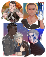 [Detroit: Become Human] People by M-F-W