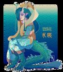 [Adoptable] Kishi / Water Dragon [SOLD]