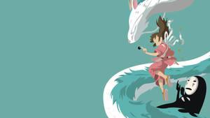 Wallpaper Spirited Away Chihiro