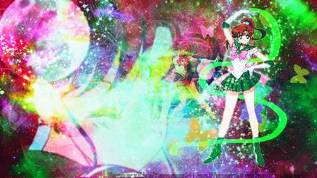 Childhood hero~Sailor Jupiter (wallpaper) by xXJudaiYukiwashere64