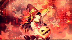 2 cUte 2 Spook (Demon Slayer wallpaper)