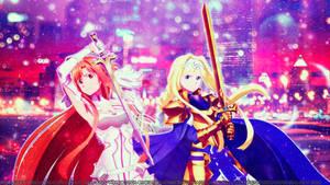 Gallant Ones (SAO: Alicization WoU wallpaper)