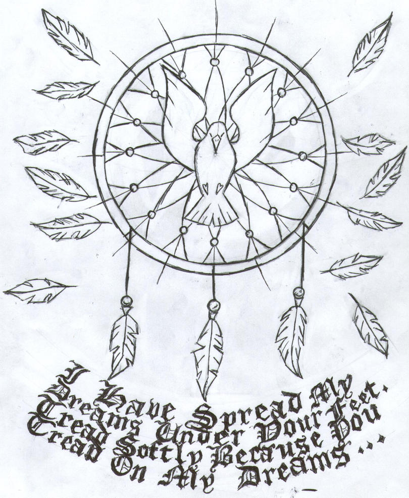 holy spirit dreamcatcher by nevermonkey on deviantart