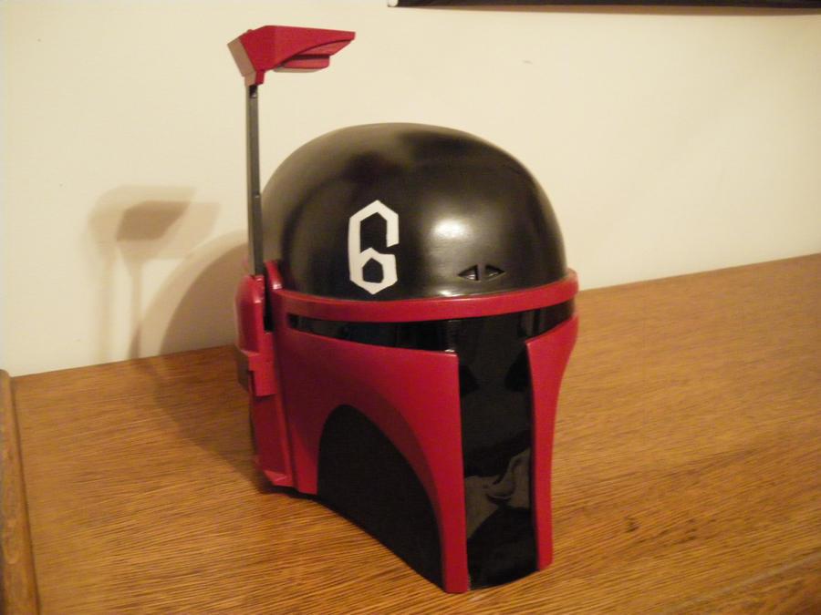 Custom Mandalorian Helmet by Mace-X