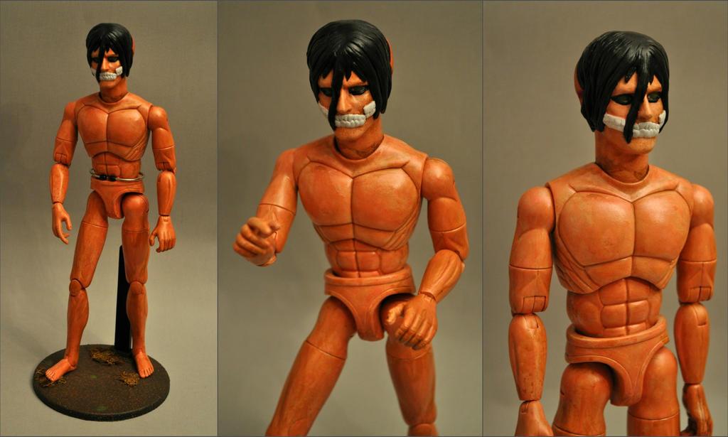 Eren Yeager Titan Form By Mace X On Deviantart