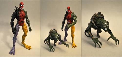 Symbiote Deadpool + Lasher