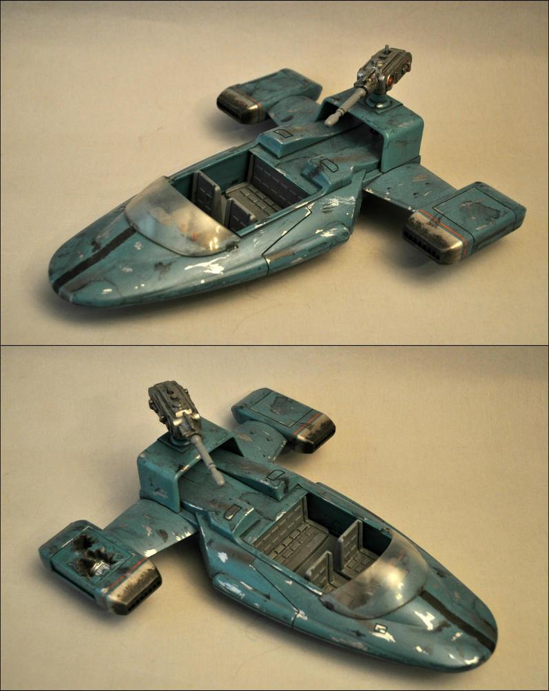 Speeder (Battle Damaged) by Mace-X