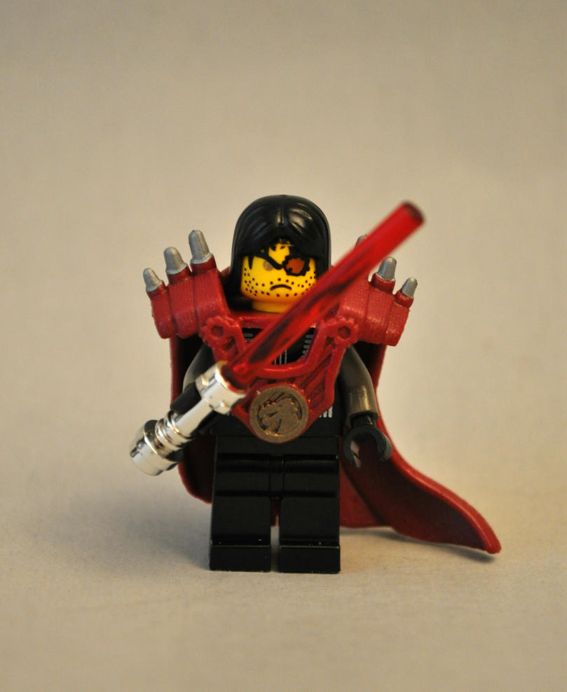 Lego Sith Lord by Mace-X