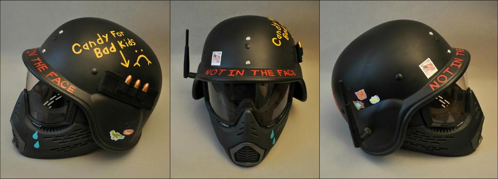 Punk Military Helmet by Mace-X