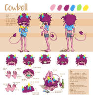 Cowbell's Ref Sheet by Kilcra