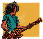 Rock Star Kid (illustration for Rio Grande Rift)