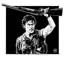 Ash and Boom Stick (Army of Darkness/Evil Dead)