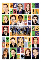 Group Portrait Poster (Corporate Client)