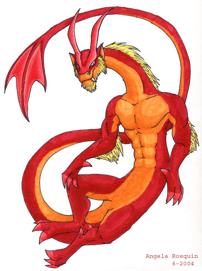 Red Guy by kookybat