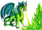 All Green Dragon