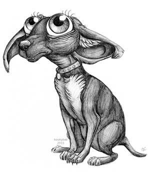 Ballpoint Chihuahua by kookybat