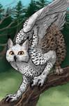 Snowy Owl / Eurasian Lynx Gryphon