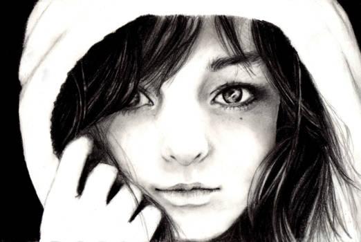 Quick sketch portrait