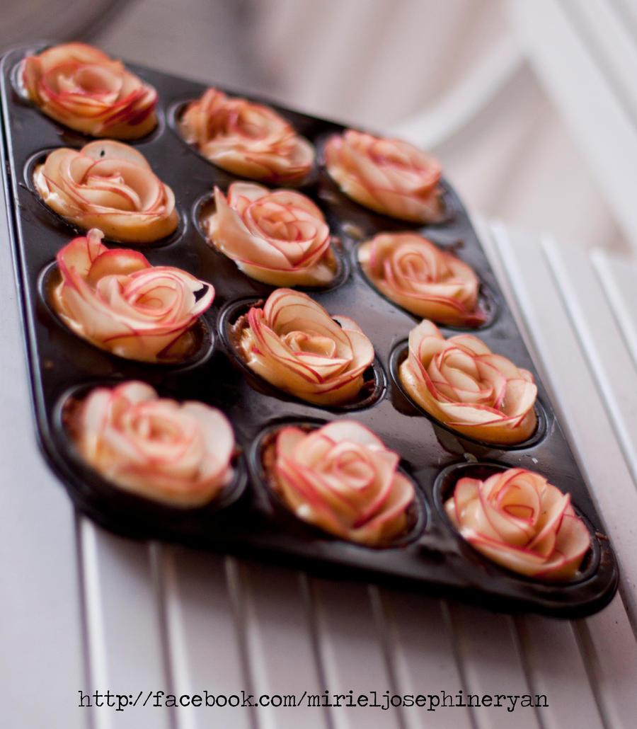 Apple pie roses with recipe