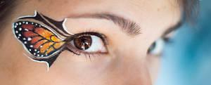 Winged eyeliner by MirielDesign