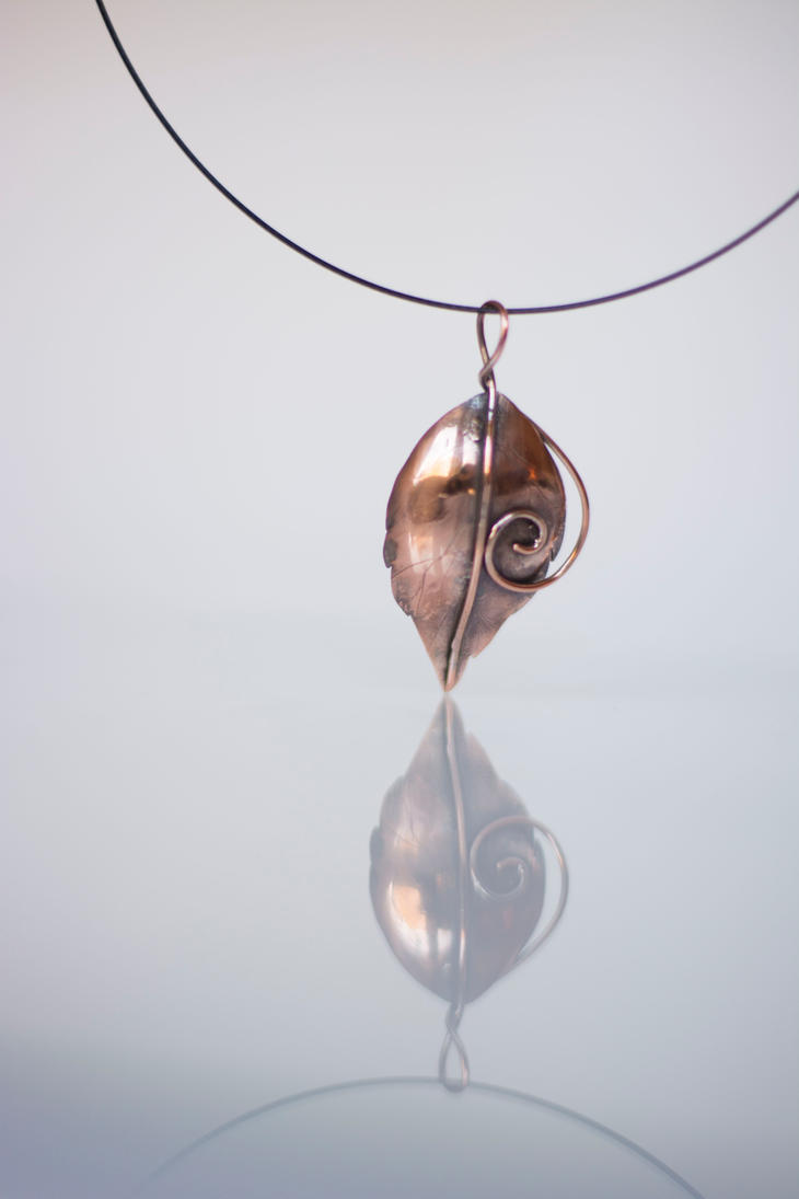 Copper Leaf by MirielDesign