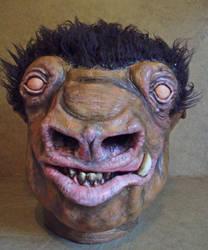 Snaggletooth Latex Mask  WIP