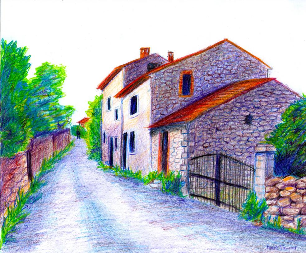 Rural Road by MistyCascade