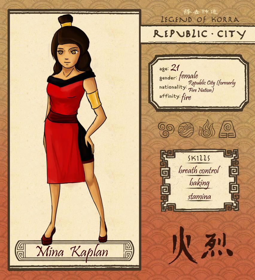RC: Mina Kaplan by LieutenantNacho