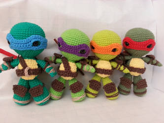 TMNT by bluu-sparrow