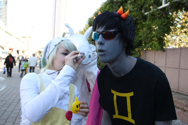 Sollux Captor Cosplay by TheBlueBerryJellyHomestuck Cosplay Sollux