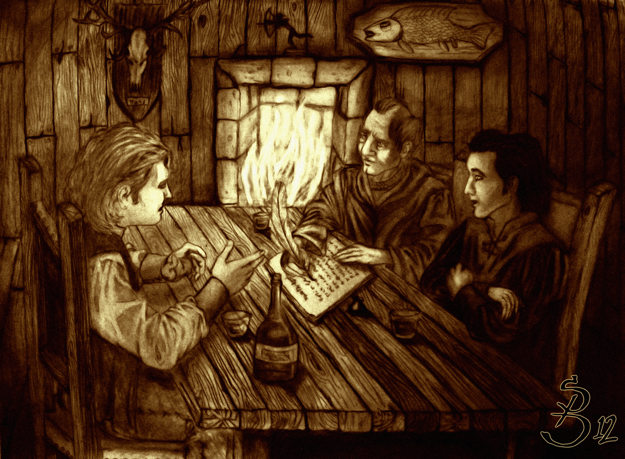 Tales at the Waystone Inn by MichaelSwordblade