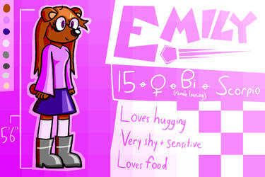 Emily Reference by TeeHeeVE