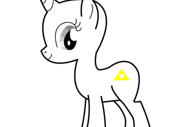 Triforce cutie mark by cookiezmilk