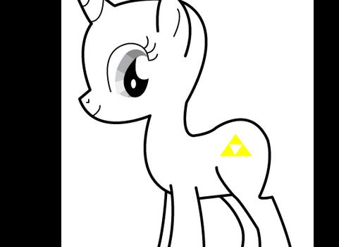 Triforce cutie mark