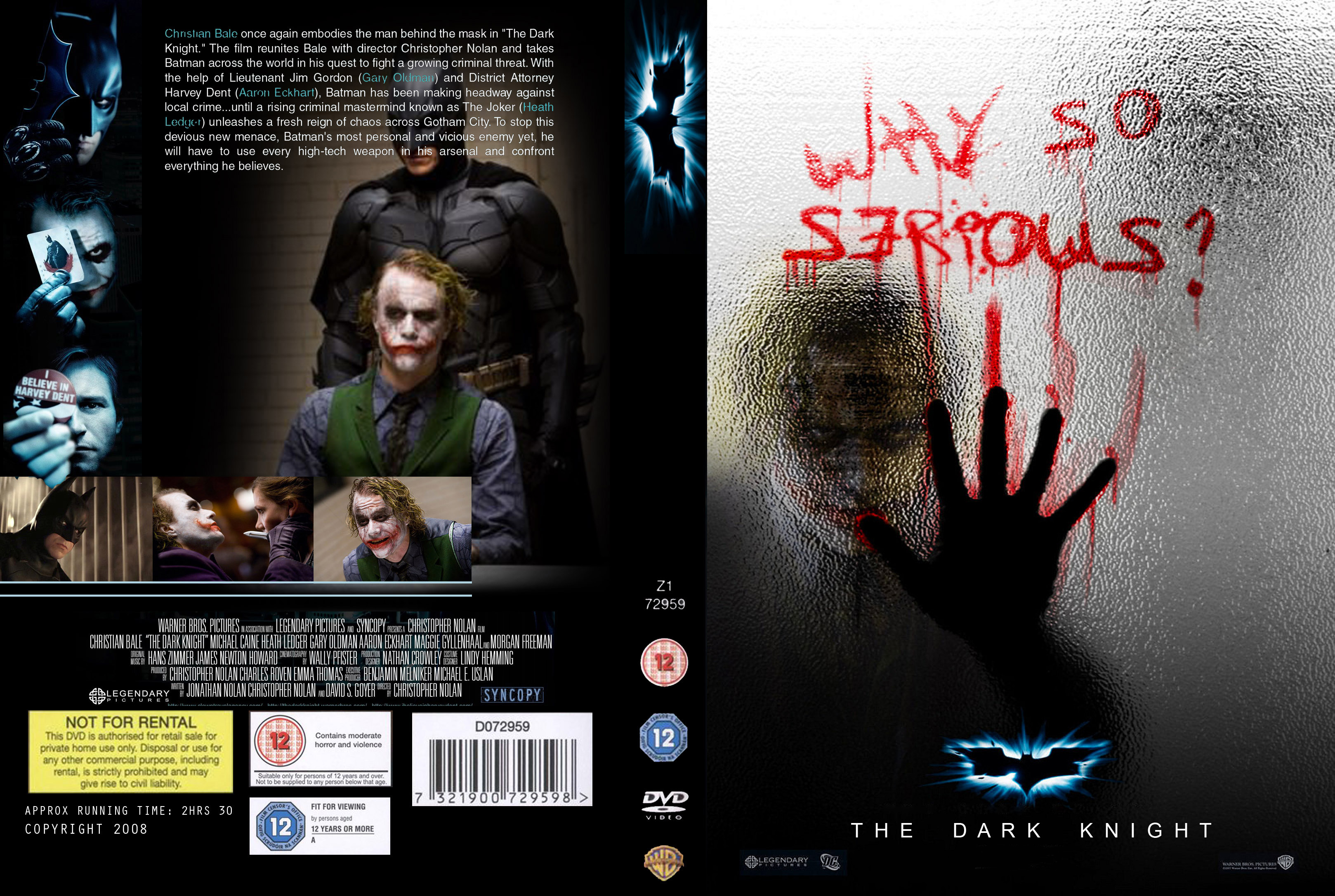 The Dark Knight DVD Cover by taghi on DeviantArt