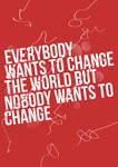 Change The World Typography