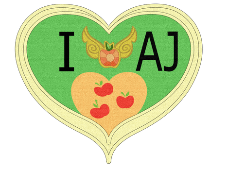 I Love Applejack By Katarakta4(gubbygums4)