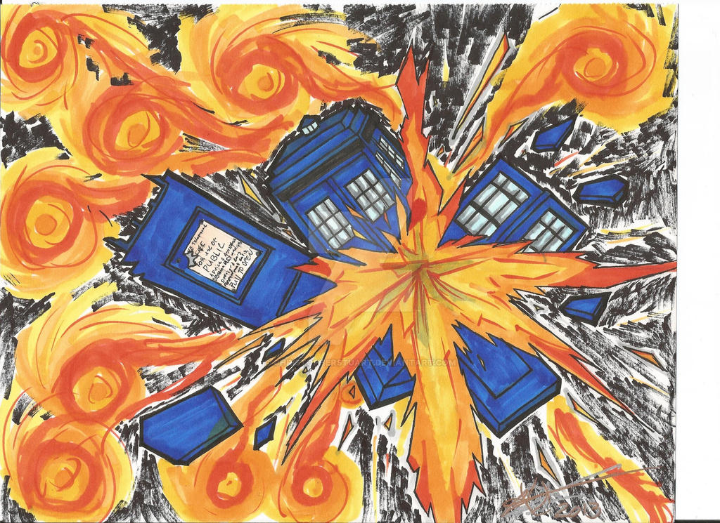 TARDISplosion by ChristopherStuart
