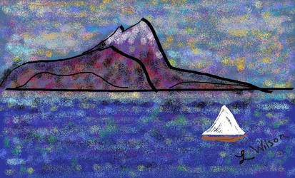 OceanScene by LindaTateWilson