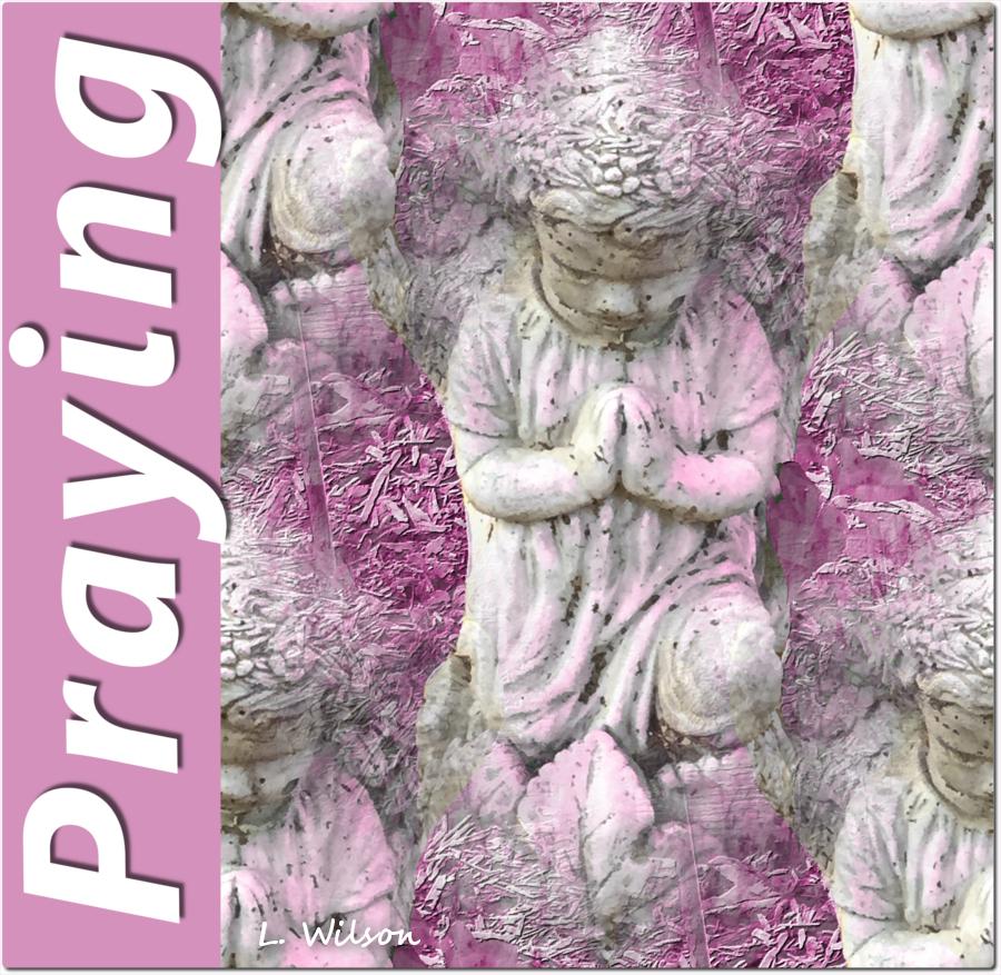 Angels2praying by LindaTateWilson