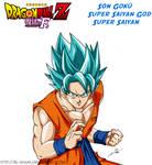 DBZ Fukkatsu No F : Son Goku SS God SS (SS Blue)