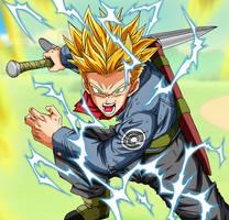 Trunks Super Saiyan 2 Full Power Dragon Ball Super