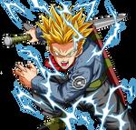 Trunks SSJ2 Full Power Dragon Ball Super render