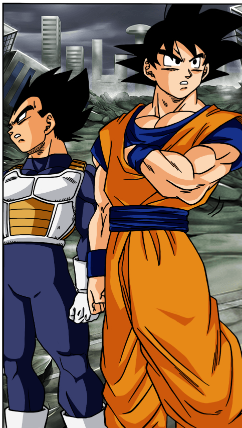 Dragon Ball Super chapter 22 color by BL-Sama