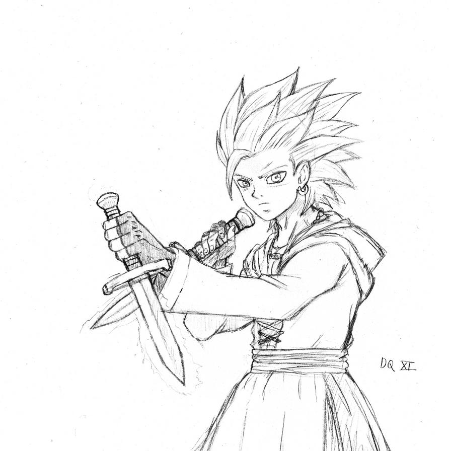 Dragon Quest XI Camus by BL-Sama