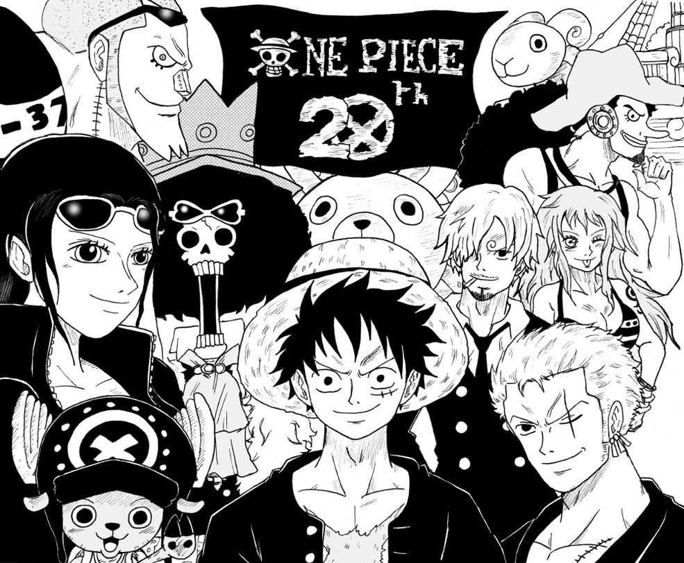 One Piece 20th Anniversary by BL-Sama