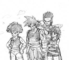 Bardock team by BL-Sama